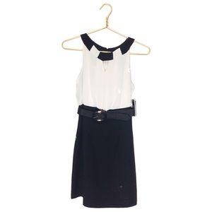 A. Byer | NWT | Black & Ivory Dress | 9